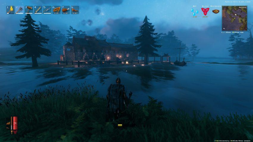 Как найти болото в Valheim?