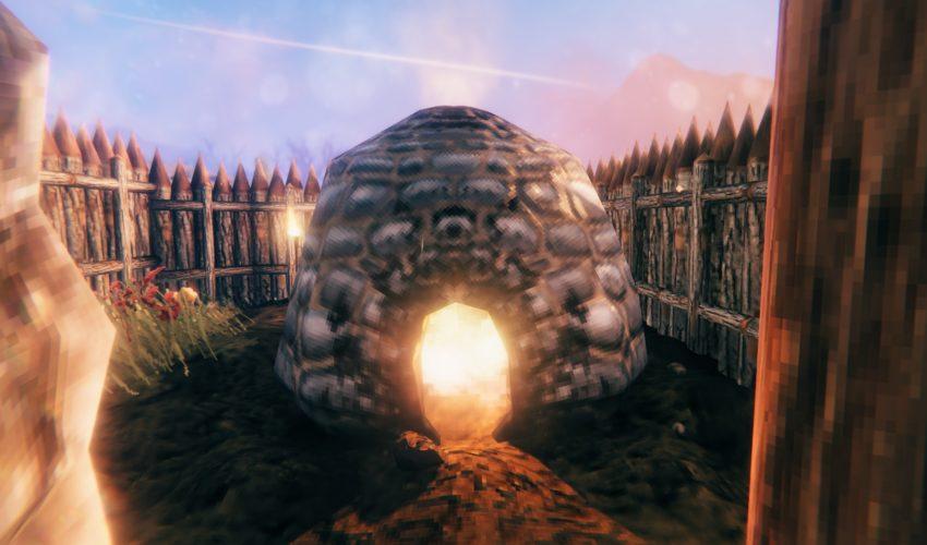 строим плавильню в игре Valheim