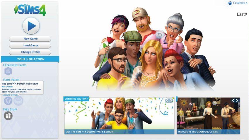 обновляем пиратскую версию игры Sims 4