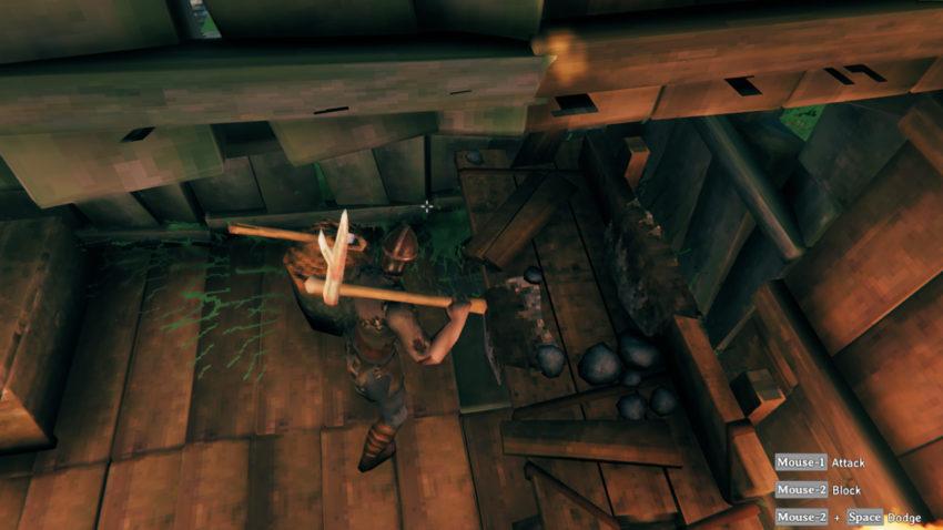 Необходимые инструменты для добычи руды в игре Valheim