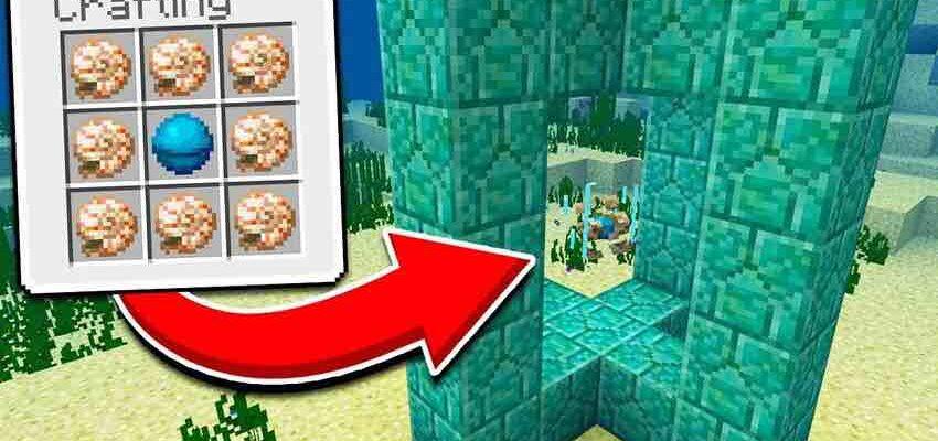 Для чего нужно сердце моря в Minecraft