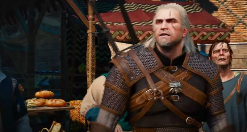 Геральт из The Witcher 3