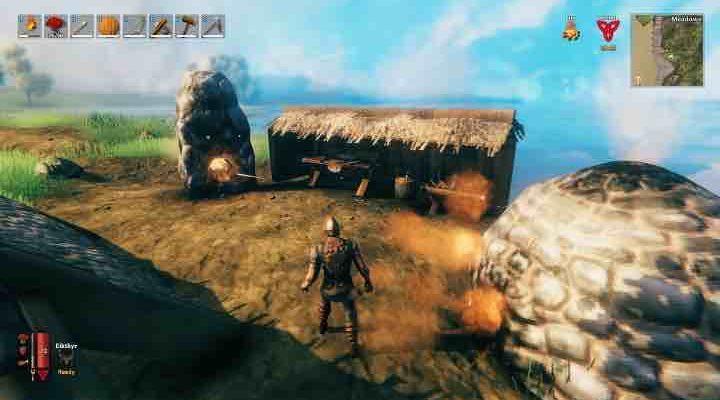 Valheim - как добывать руду?
