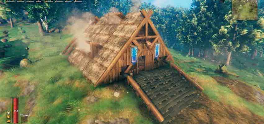 Valheim - как построить дом?