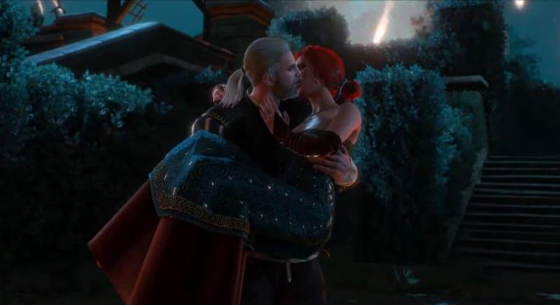Ведьмак и Трисс Меригольд