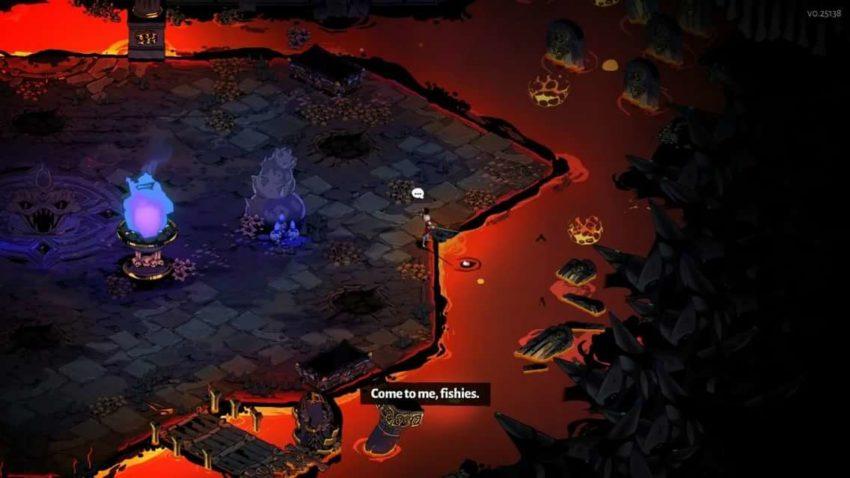 Hades: как рыбачить в игре?