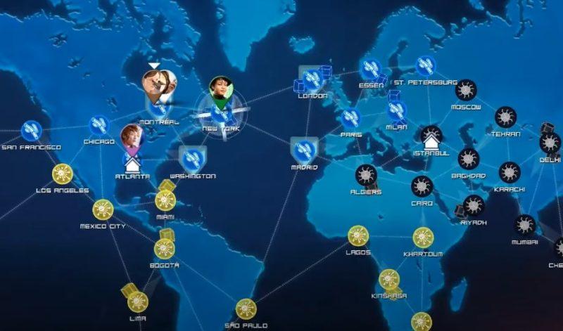Адаптация настольной игры Pandemic: The Board Game