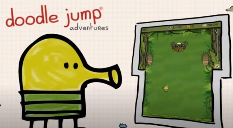 Аркада для смартфонов Doodle Jump