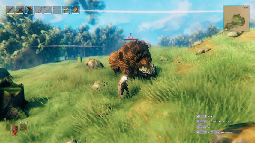 Как убить быкозавра в игре Valheim