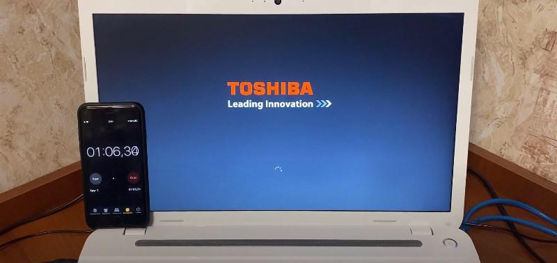 Долгий запуск ноутбука