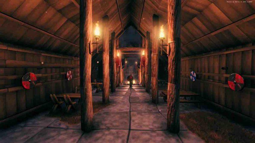 Источники света в игре Valheim