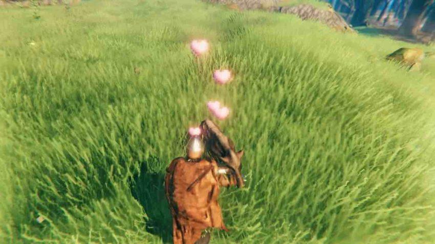 Как перетащить кабана в игре Valheim