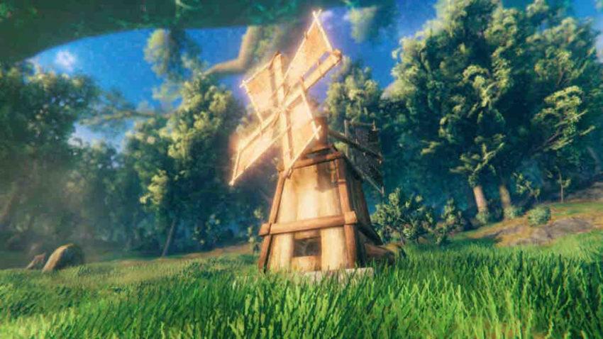Мельница в игре Valheim