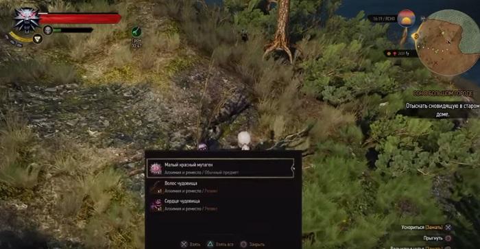 Где найти красный мутаген в Ведьмак 3: Дикая охота?