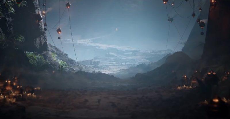Сгенерированный мир в игре