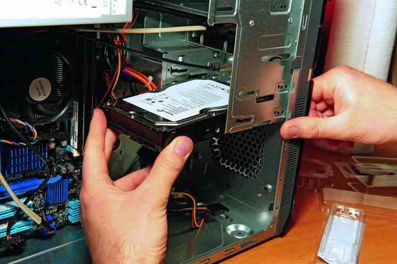 Жёсткий диск в компьютере