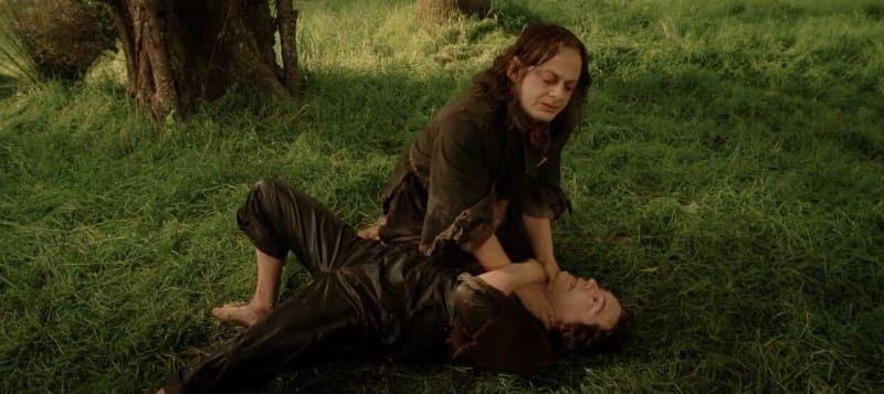 Смеагол убивает Деагола