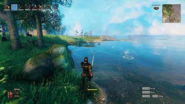 Valheim - как ловить рыбу (рыбачить)?