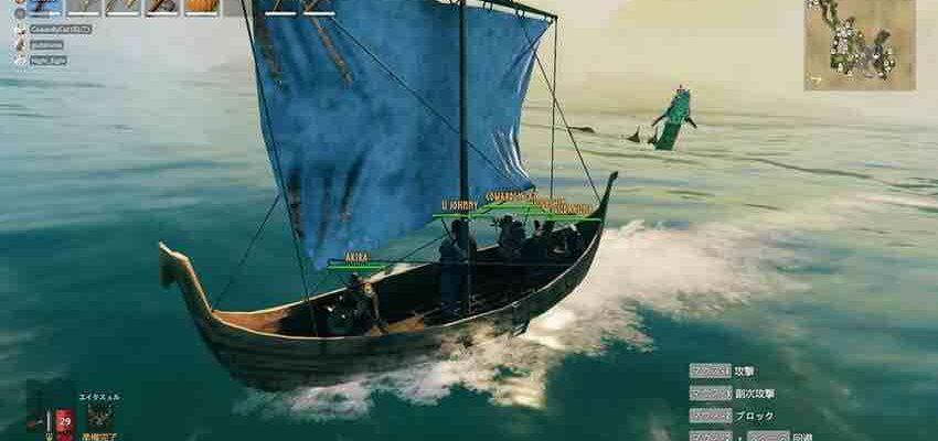 Valheim - как построить корабль?