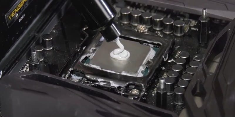 Замена термопасты на процессоре ПК