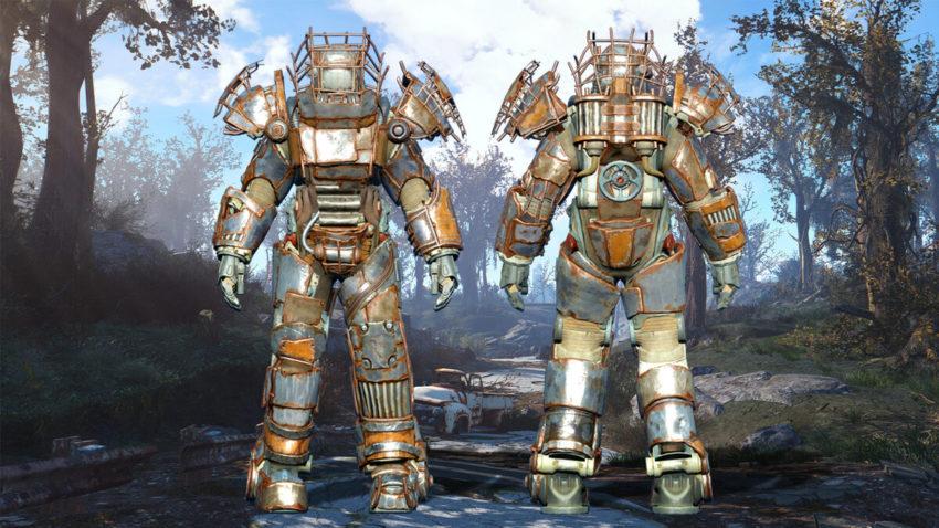 Силовая броня Рейдера в Fallout-4