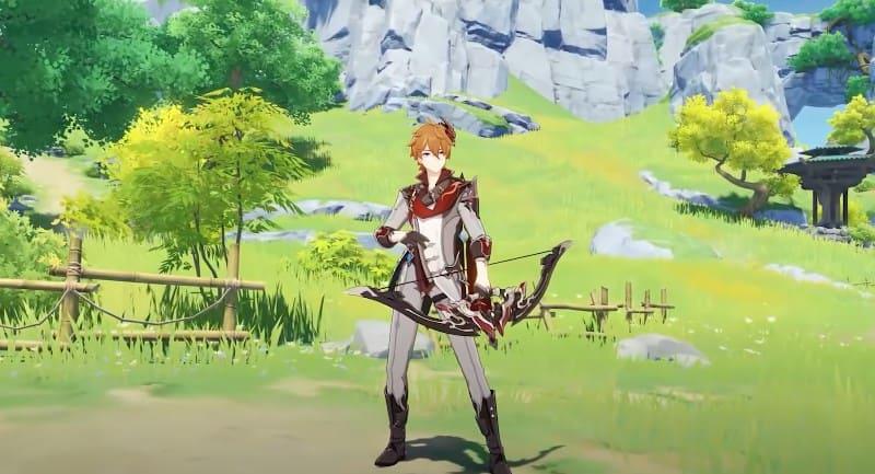 Чайльд в игре Genshin Impact