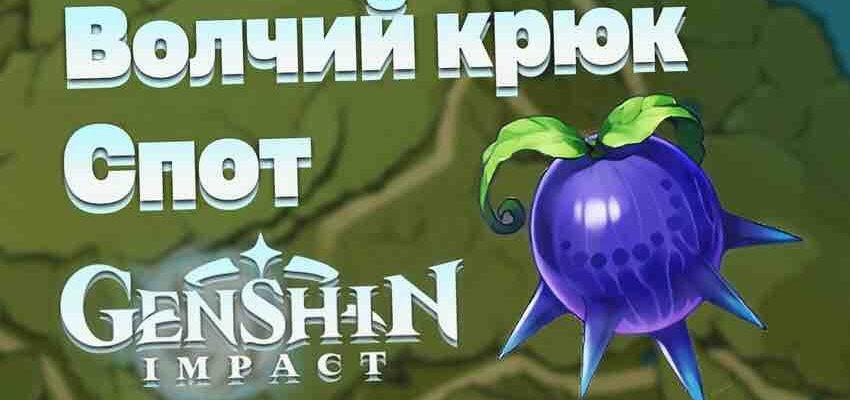 Genshin Impact - где можно отыскать ягоды Волчий Крюк
