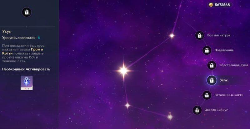 Созвездия Рейзора
