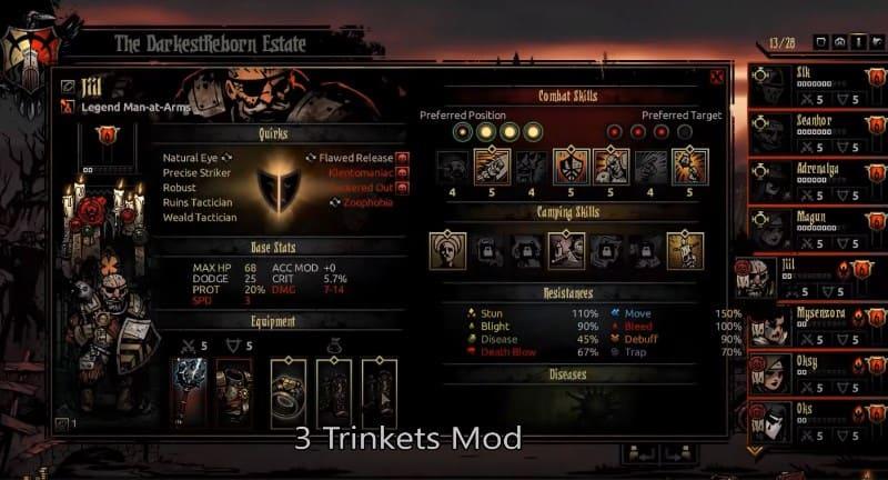 3 TRINKETS for Darkest Dungeon