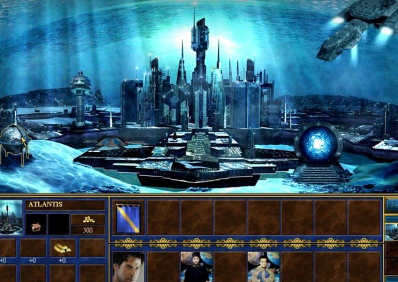 Heroes III Atlantis Town