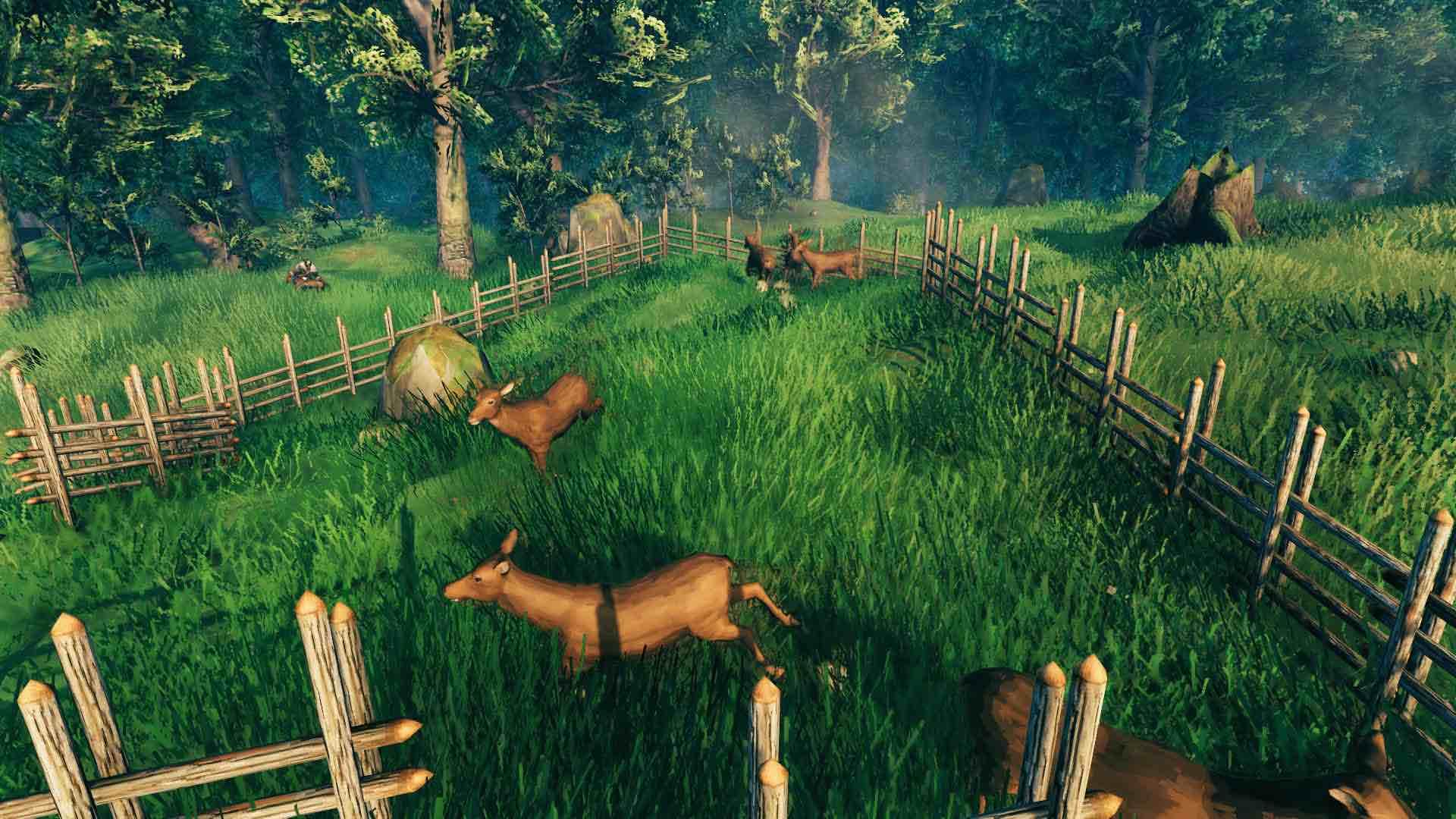 Как приручить оленя в игре Valheim