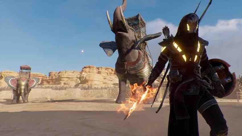 Где найти слонов в игре Assassin's creed
