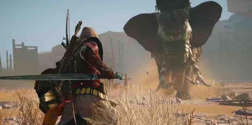 Как убить слона в игре Assassin's creed