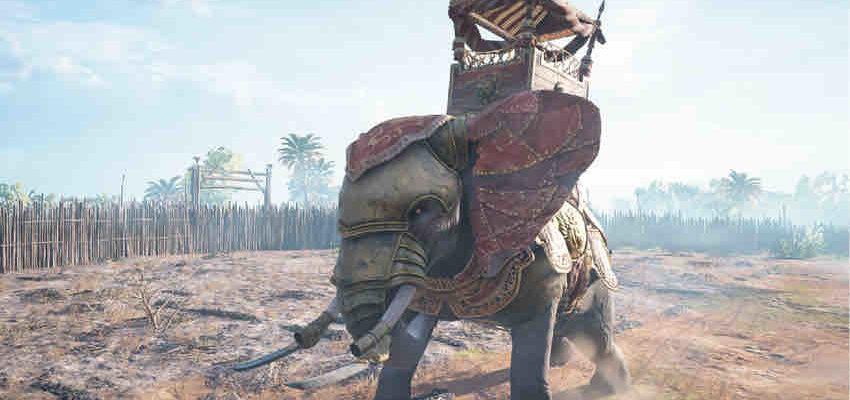 Как убить слона в Assassin's Creed: Origins
