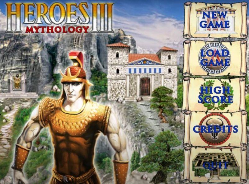 Мод Мифология для Heroes III