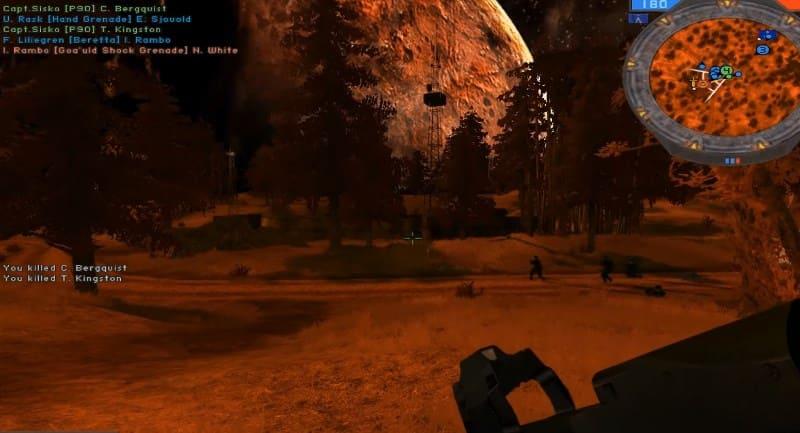 Модификация Stargate