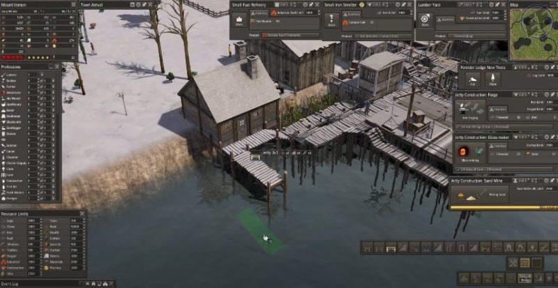Строительство города на воде